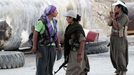 guerrilleras kurdas