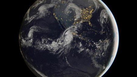 Hurricane Patricia as seen from space, 23 October 2015. @Eumetsat/Getty