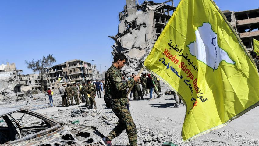 SDF Syria
